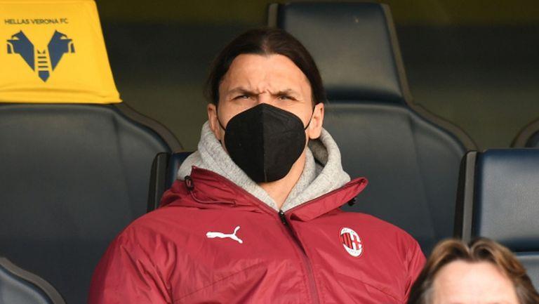Ибрахимович заговори за оставане в Милан