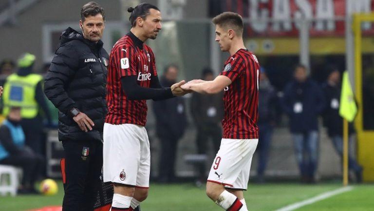 Пьонтек: Тръгнах си от Милан заради Златан