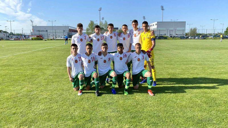 България U17 отстъпи на Сърбия