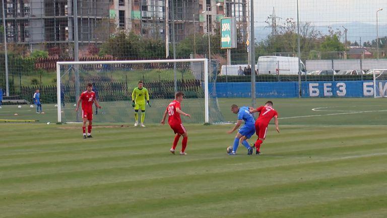 Юношите на ЦСКА-София елиминираха връстниците си от Левски и се класираха за финала на Купата на България