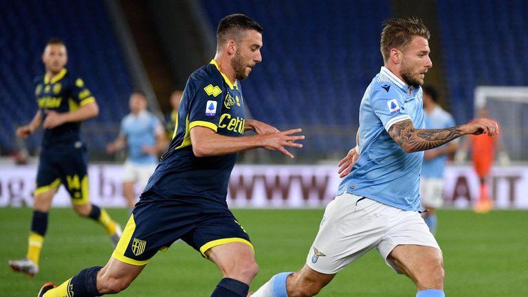 Лацио сломи Парма с гол в добавеното време (видео)