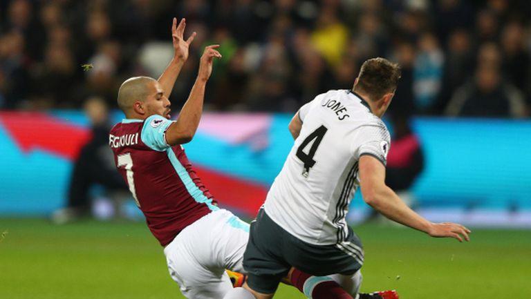 Шеста поредна победа за Юнайтед след спорни съдийски решения (видео)