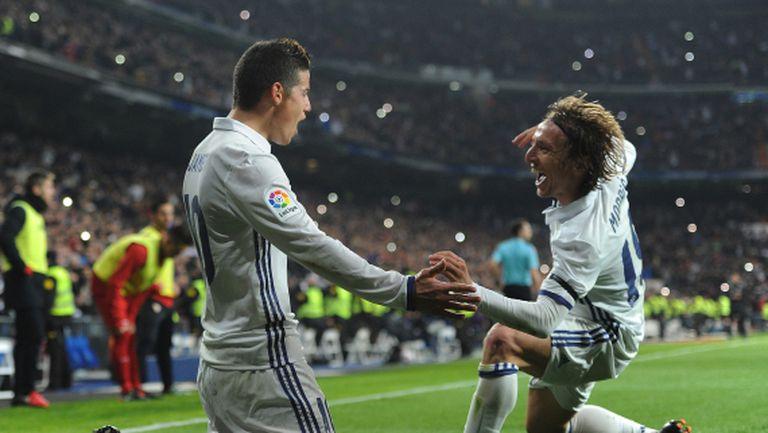 Реал Мадрид отчая Севиля за едно полувреме (видео + галерия)