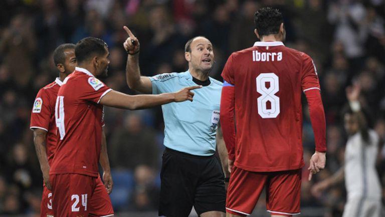 """Два от головете на Реал Мадрид са нередовни, нарекоха съдията """"безсрамник"""" (видео)"""