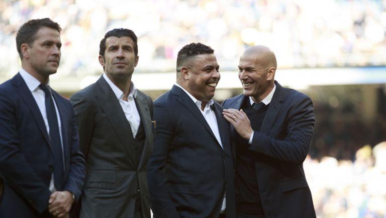 """Зидан: Кристиано заслужава повече от четири """"Златни топки"""""""