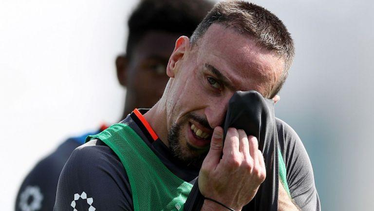 Рибери: Ако не играем на 100%, нямаме шанс срещу Арсенал