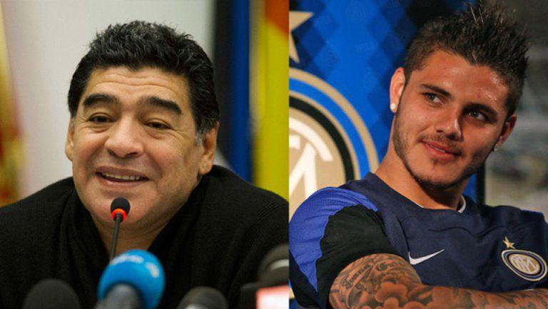 Икарди да стои далеч от националния тим, призова Марадона