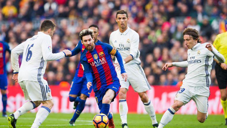 Барселона - Реал (Мадрид) 1:1