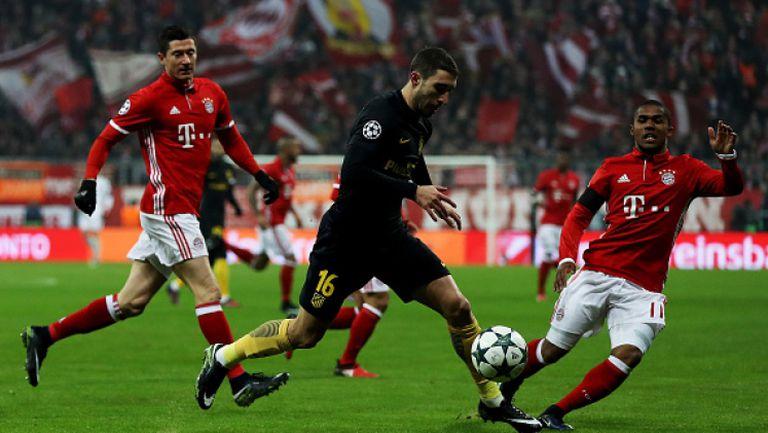 Байерн (Мюнхен) - Атлетико Мадрид 1:0