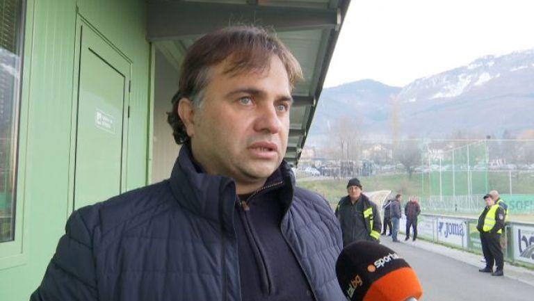 Николай Митов: Много съм доволен от играта в този полусезон