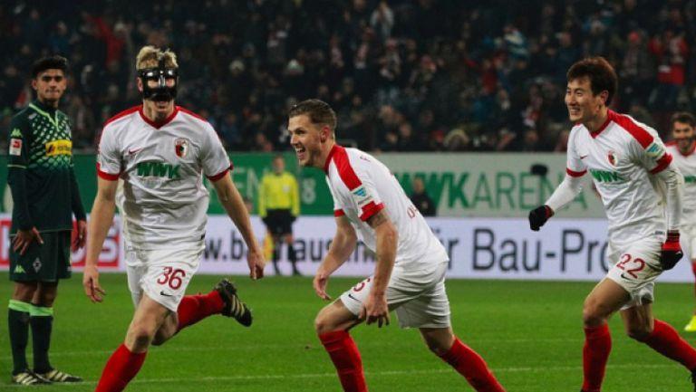 Аугсбург - Борусия (Мьонхенгладбах) 1:0