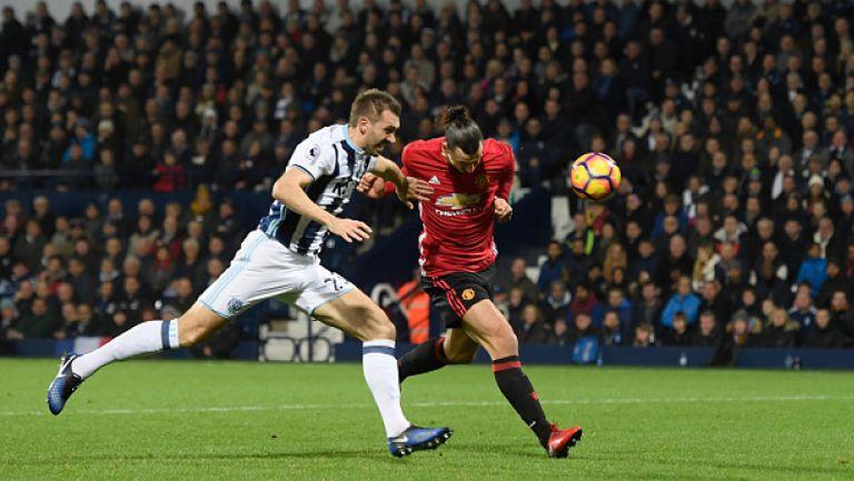 Уест Бромич - Манчестър Юнайтед 0:2
