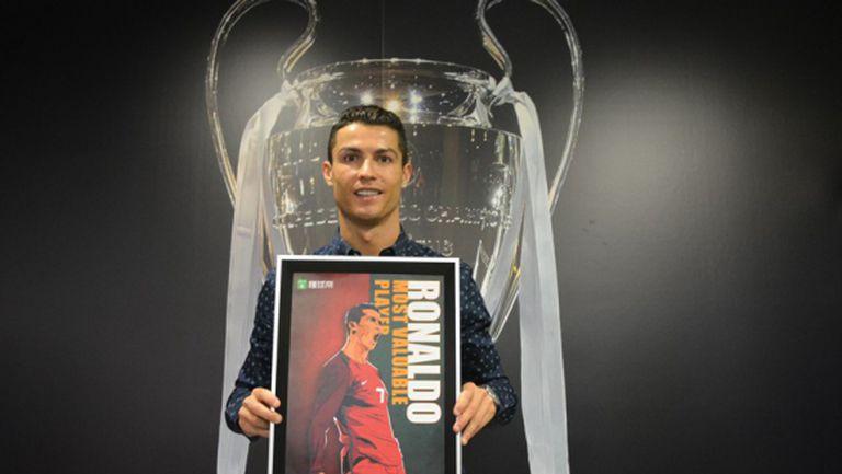 Кристиано взе нов приз и се закани: Мога да съм №1 всяка година