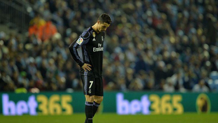 Мечтата на Реал Мадрид за требъл се изпепели (видео)
