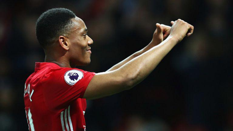 Марсиал се завръща в състава на Манчестър Юнайтед за двубоя срещу Уигън