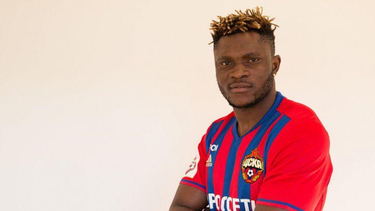 Нигерийски нападател се върна в ЦСКА