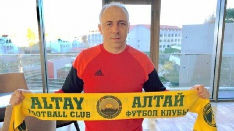 Илиан Илиев даде първото си интервю начело на Алтай и обеща: Ще се опитаме да сме интересни