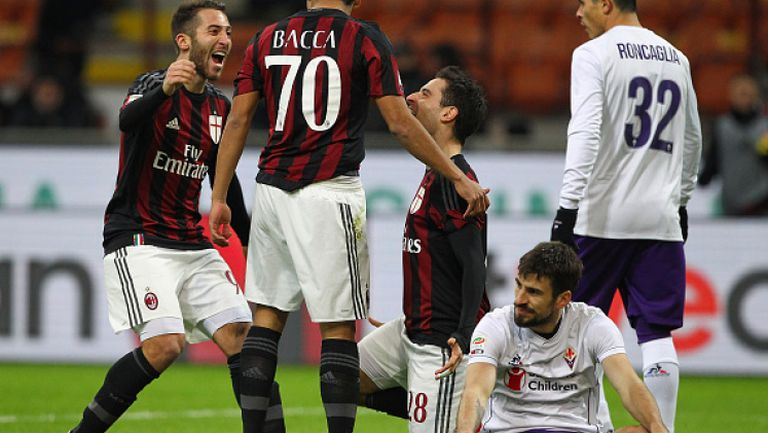 Милан - Фиорентина 2:0
