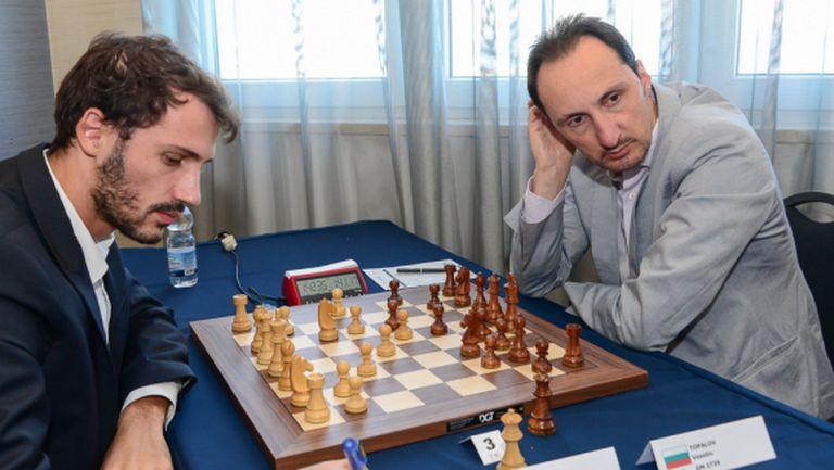 Чепаринов и Топалов не се победиха, Стефанова с нов успех в Гибралтар