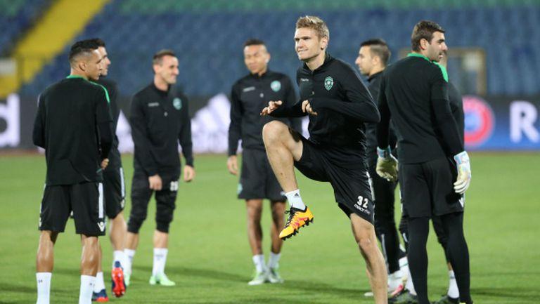 В Лудогорец вече се говори за финал в Лига Европа, Домусчиев дал пример