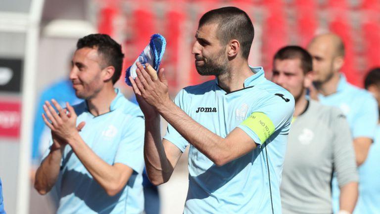 Благо Георгиев наказа Дунав (видео)