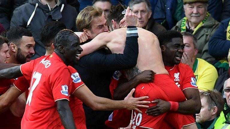 Неистова радост за Клоп и Ливърпул след победния гол