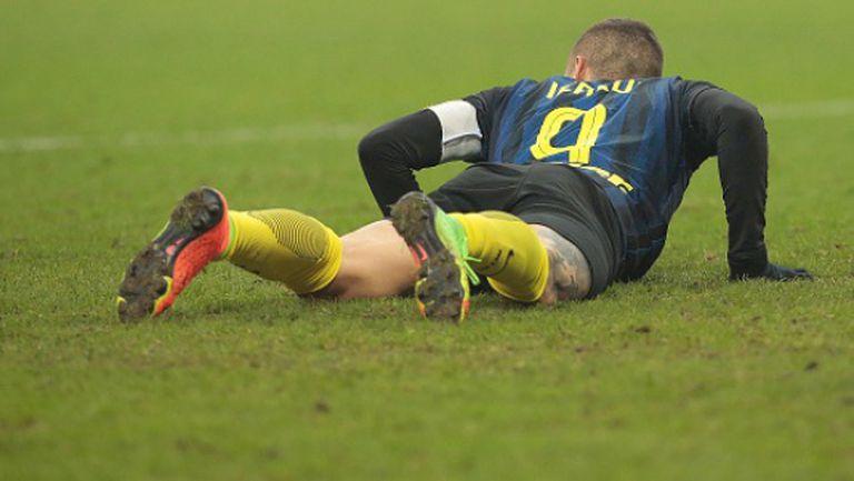 Победната серия на Интер приключи с отпадане от Купата на Италия (видео)
