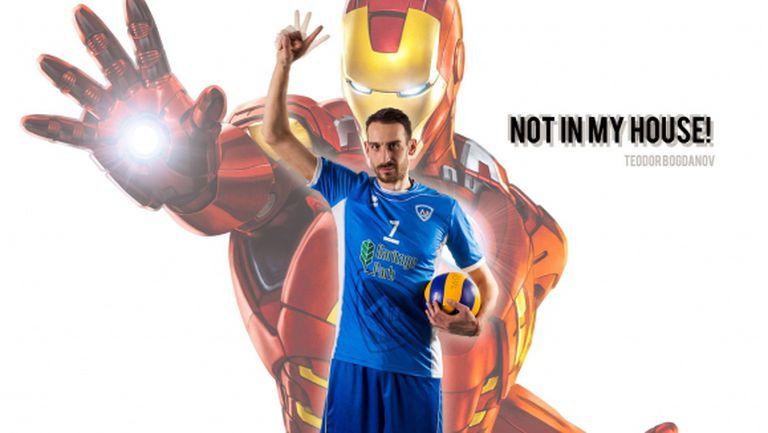 Железният човек - Теодор Богданов: Подкрепете Левски срещу Фенербахче