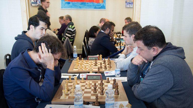 Чепаринов с победа, загуби за Топалов и Стефанова