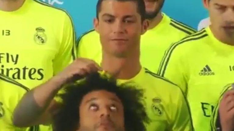 Роналдо се шегува с Марсело