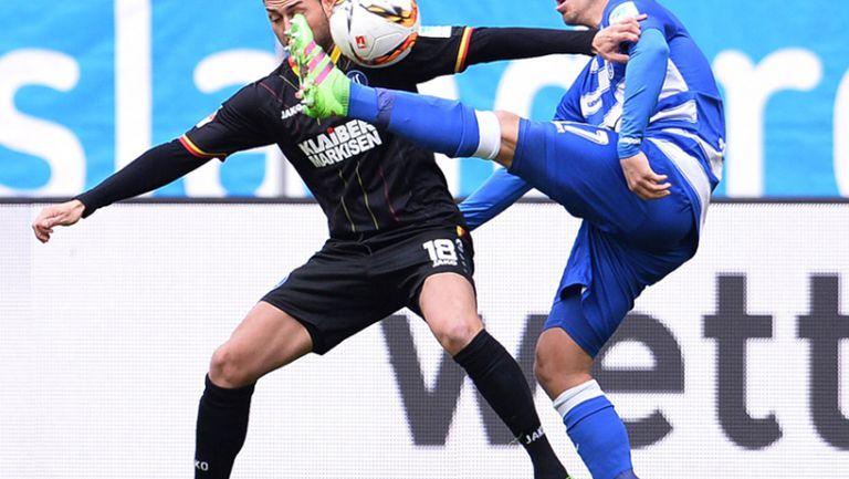 Дуисбург - Карлсруе 0:1
