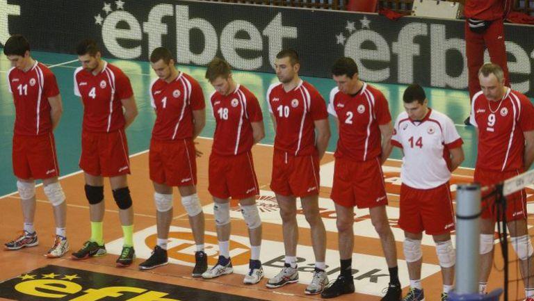 Почетоха Трифон Иванов преди волейболното дерби