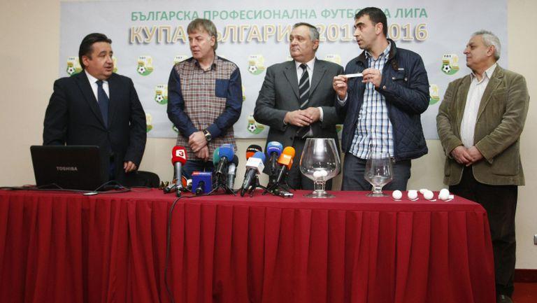 Силно чаканият сблъсък не се случи - жребият размина ЦСКА и Литекс