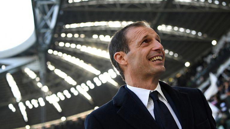 Алегри възхитен: Ювентус - Интер беше на ниво полуфинал в ШЛ
