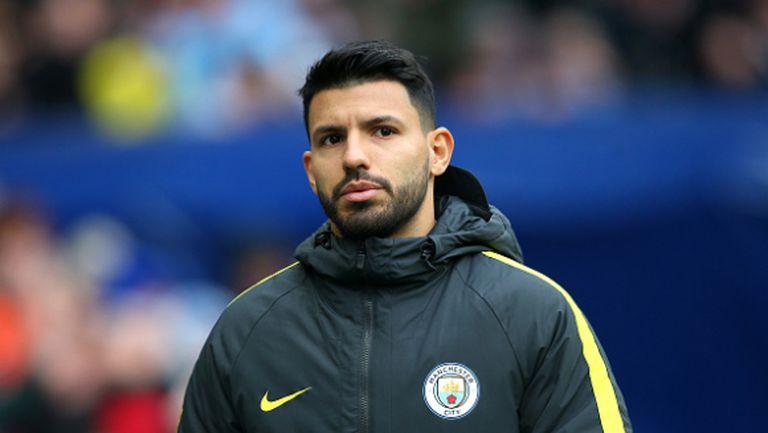 Агуеро: Клубът ще реши дали ще остана, имам три месеца да помогна