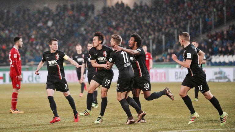 Хановер 96 - Аугсбург 0:1