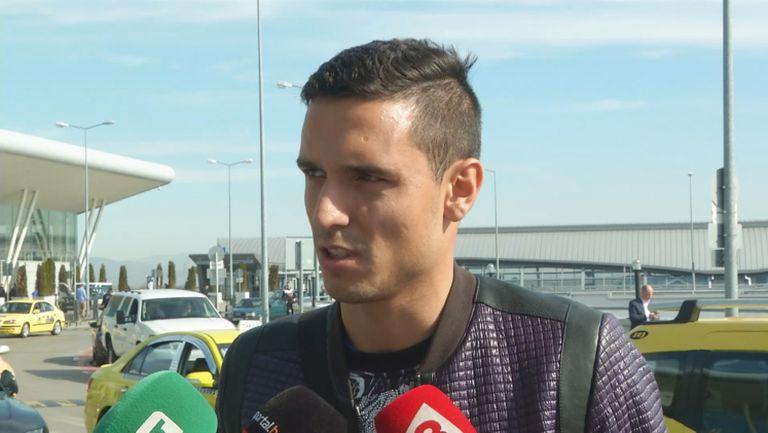 Миланов: Решението да играя за Грасхопър беше мое, доволен съм от дебюта си