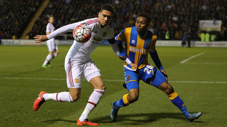 Шроусбъри Таун - Манчестър Юнайтед 0:3
