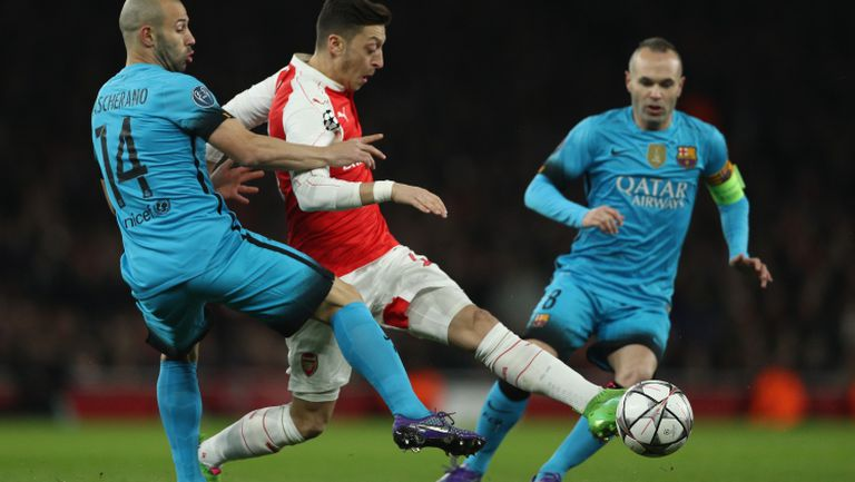 Арсенал - Барселона 0:2