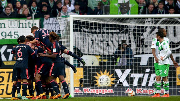 Волфсбург - Байерн (Мюнхен) 0:2