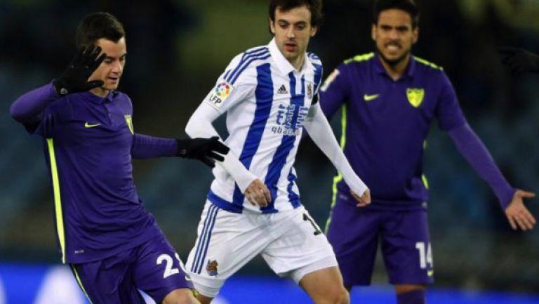 Реал Сосиедад - Малага 1:1