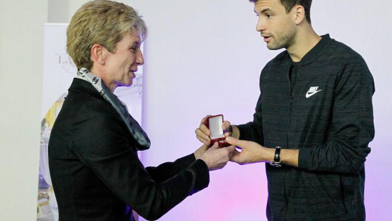 Григор Димитров получи медал за специални заслуги