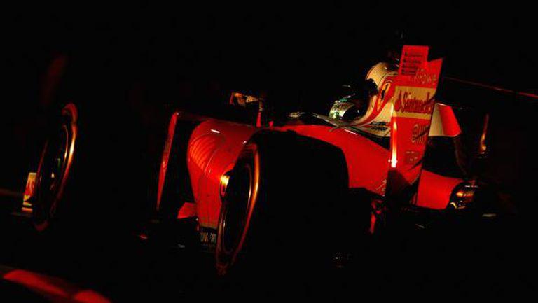 Катастрофата на Фетел сложи край на тестовете на Ферари (Видео)