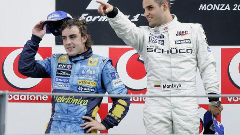 Монтоя: Фетел и Алонсо са най-добрите пилоти във Формула 1
