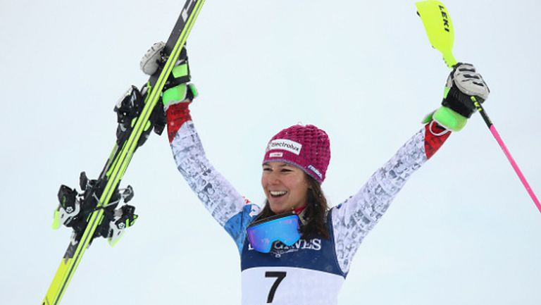 Швейцарки оглавиха класирането в алпийската комбинация на СП по ски-алпийски дисциплини