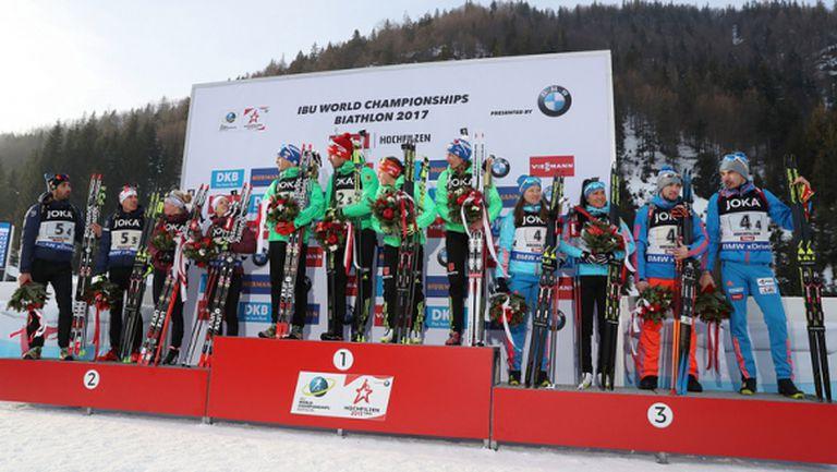 Руските биатлонисти канят Фуркад и компания на чай