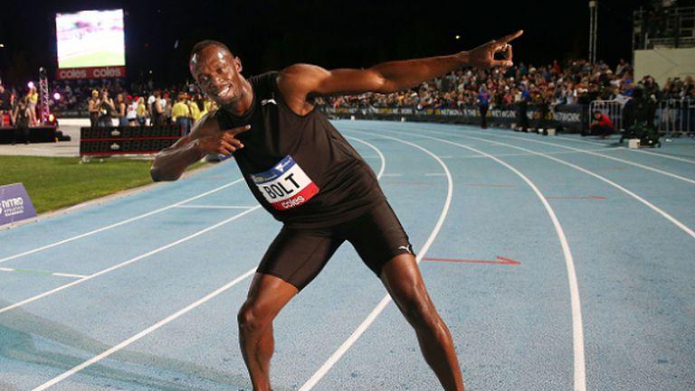 Болт най-бърз на 150 метра в дебютното издание на турнира Нитро