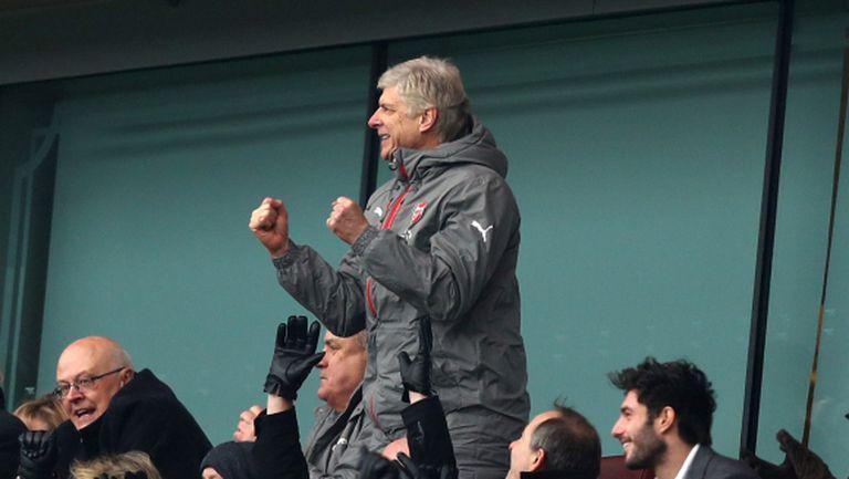 Венгер не е готов да напусне Арсенал