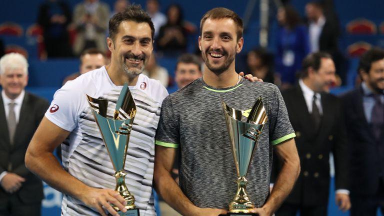 Зимонич спечели 54-а титла в кариерата си на двойки след триумф в София
