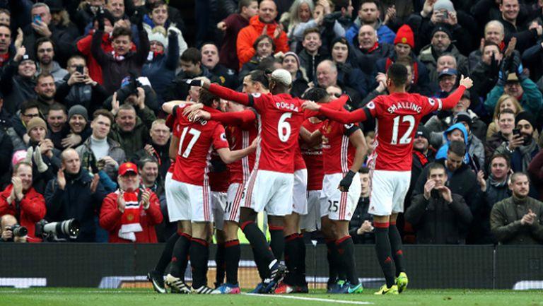 Юнайтед с историческо постижение